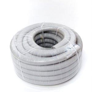 Corrugated Conduit Medium Duty Grey 50mm