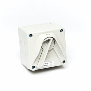 Isolator 1 pole 20A250V weather protected