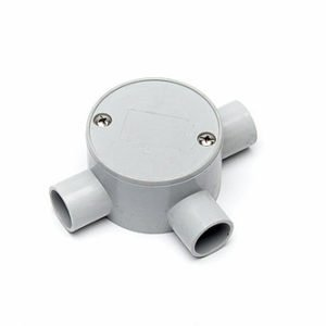 Junction Box 20mm 3 Way shallow