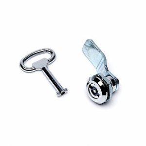 Spare lock to suit enclosure